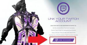 Как сделать Twitch Prime для Warframe