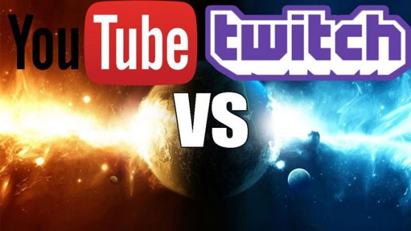 Выбор Twitch или YouTube
