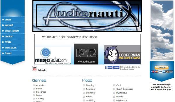 Ресурс Audionautix