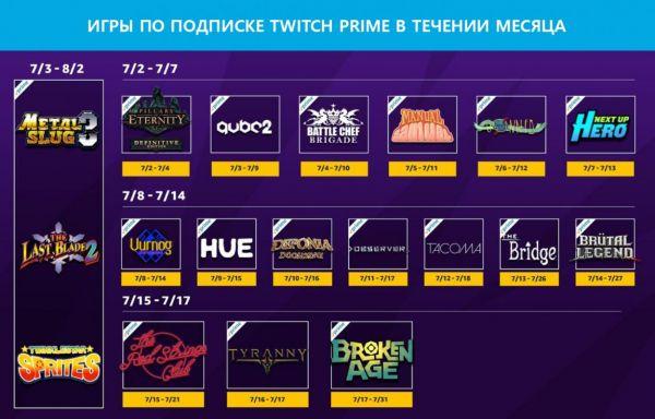 Twitch Prime Warface бесплатные игры