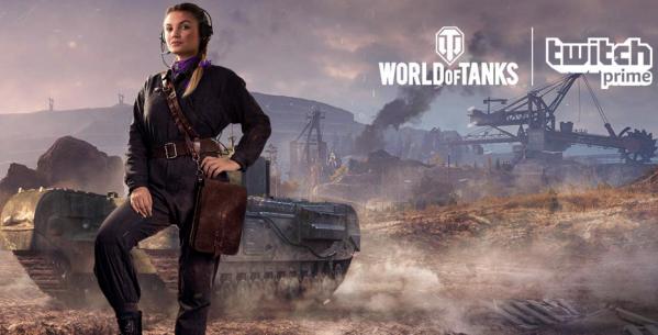 Получение Twitch Prime World of Tanks